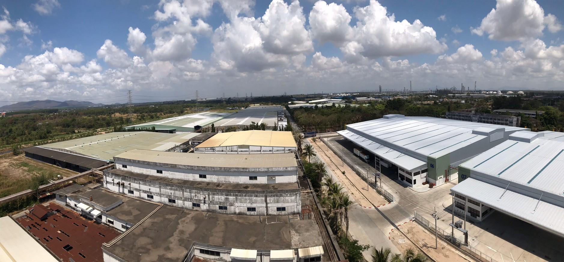 โรงงานและคลังสินค้าให้เช่า บนถนนทางหลวง สาย 3191 ตำบลห้วยโป่ง อำเภอมาบตาพุด จังหวัดระยอง