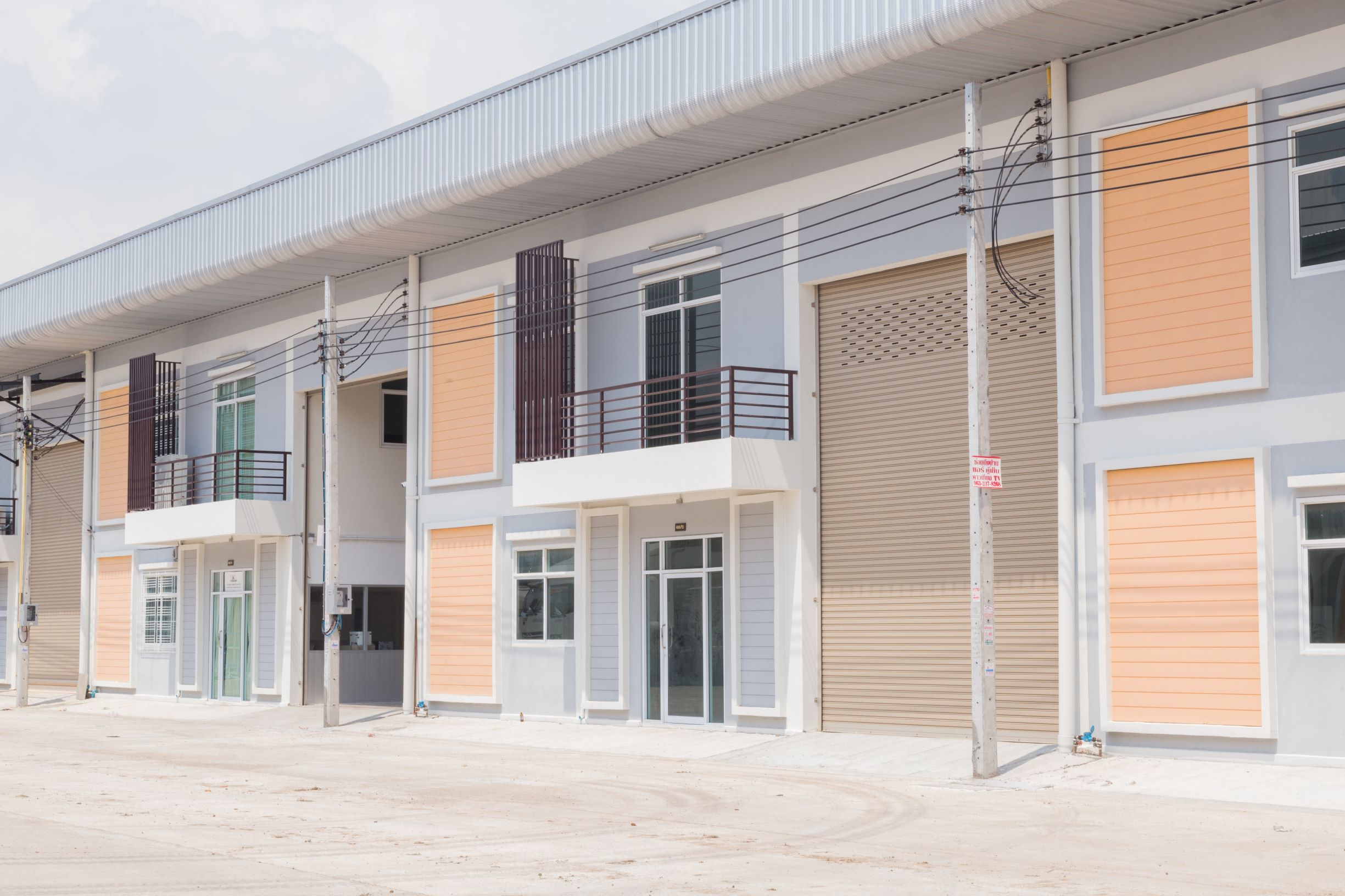 Factory Phra Samut Chedi District